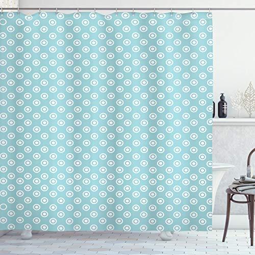cortinas de baño con botones