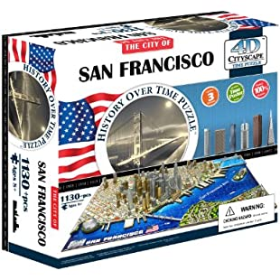 4D Cityscape San Francisco History Time Puzzle:Kostenlosefilme