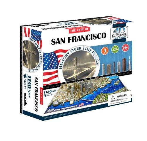 4D Cityscape - Time Puzzle, San Francisco