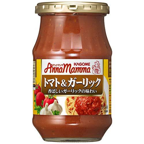 カゴメ アンナマンマ トマト&ガーリック330g瓶×12(6×2)本入×(2ケース)