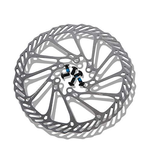 Disco de Freno 160 mm 180 mm MTB con 6 pernos G3 HS1 Freno de Fisco de Bicicleta de Acero Inoxidable, MTB, BMX Rotores de Bicicleta de Montaña Accesorios de Bicicleta de Carretera, Plata # G3 160MM