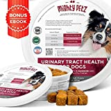 MAX Cranberry for Dogs - Cures & Prevents Painful UTI Urinary Tract Infections. Bladder Support Pills & Kidney Health. No More Antibiotics & Incontinence! D-Mannose & Probiotics Chews, Save on Vet