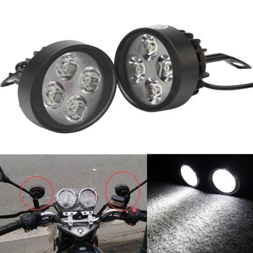 Motorcycle Driving Lights Spotlights Fog Auxiliary Lights Cree 12V-80V...