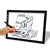 Autolizer 17' Drawing Tablet, Adjustable Brightness Tattoo Tracing Pad, LED Board Art Drawing Table Light Box for Animation, Sketching, Designing, Stenciling, Drawing,Sewing (17')