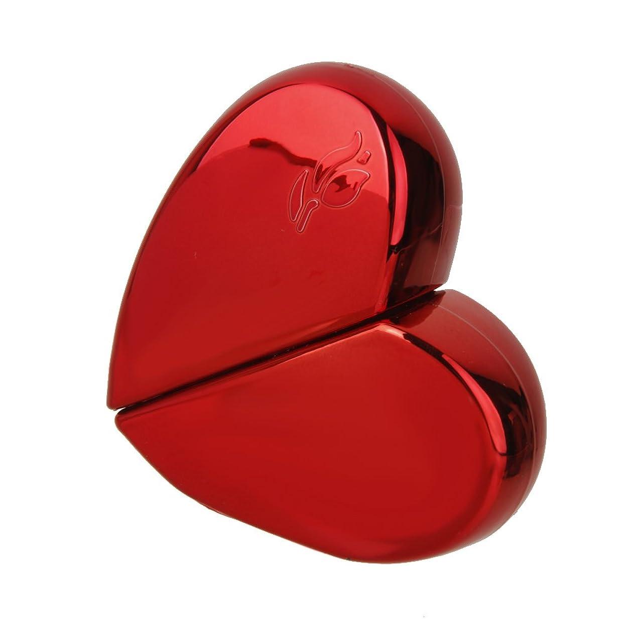 元のスポークスマン慈善KOZEEY旅行 ハート型 香水アトマイザー 詰め替えスプレーボトル25ml レッド