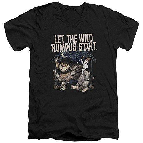 Where The Wild Things Are - Wo die Wilden Kerle wohnen - das Wilde Rumpus-T-Shirt für Männer, Medium, Black