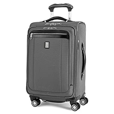 Travelpro PlatinumMagna2 Carry-On Expandable Spinner Suiter Suitcase, 21-in., Charcoal Grey
