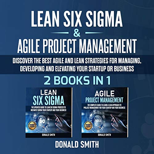 Lean Six Sigma & Agile Project Management: 2 Books in 1 cover art