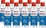 blupalu | Wasserbett Conditioner I 10 x 250 ml Conditionierer | jetzt mit 9g/100g Wirkstoff Poly(Dimethylamine-Co-Epichlorohydrin) | Konditionierer für Wasserbetten I Wasserbett-Zubehör mit Bubble Stop