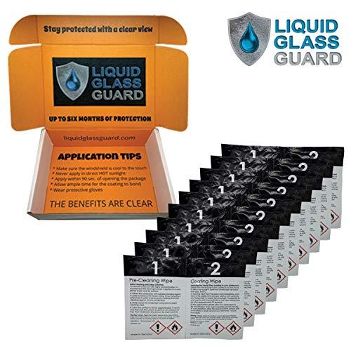 Liquid Glass Guard SiO2 Nano Technology Windshield Protection