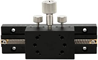 Manual Posicionamiento Lineal Etapa Rodamiento Tuning Aleación de Aluminio Plataforma Manual desplazamiento Plataforma Ree...