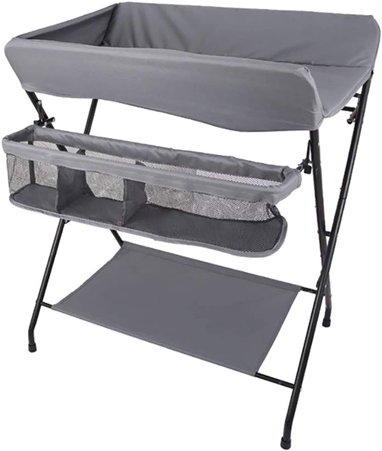 Foldable Baby Changing Diaper Table, Portable Diaper Organizer Station Dresser, Perfect for 0-3 Years Old Toddler (color   Style2)