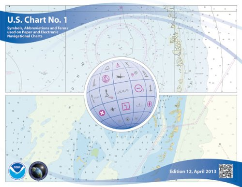 U S Chart No 1 Symbols Abbreviations And Terms Used On Paper And Electronic Navigational Charts 12th Edition