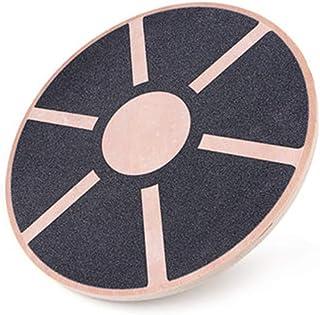 Balance Boards, Wooden Balance Board Wobble Board Balance Trainer Anti Slip Surface for Aerobic Balance and Coordination E...