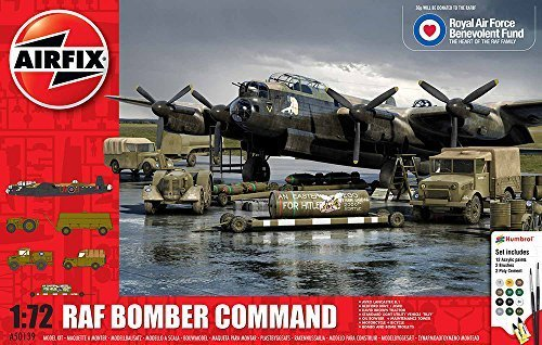 Airfix 1:72 Scale RAFBF Bomber Command Gift Set by