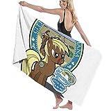 MasakoJMassie My Little Sebastian Parques y Recreación Pony The Towel Unisex Ligero Quicky Dry Microfibra Toalla de Ducha Toalla de Playa
