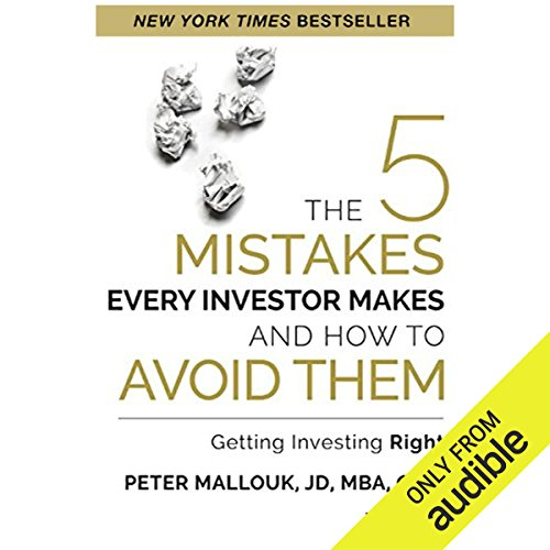 The 5 Mistakes Every Investor Makes and How to Avoid Them audiobook cover art