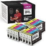 12 Pack LEMERO UEXPECT 29XL Compatible Epson 29XL 29 T2991 T29XL T29 Cartucho de Tinta para Epson xp 342/xp 442/xp 235/xp 247/xp 255/xp332/xp 352/xp 245/xp 452/xp432/xp 355/xp 455/xp 445/xp-345/xp 257