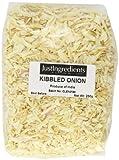 JustIngredients Essential Kibbled Onion CebollaRallada - 5 Paquetes de 250 gr - Total: 1250 gr