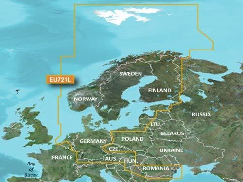 Garmin VEU721L BlueChart g2Vision HD Europe du Nord