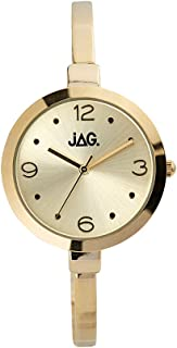 JAG Women's J2031A Year-Round Analog Quartz Yellow Gold Watch