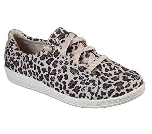 Skechers Madison Ave - Nature Rises Zapatilla De Deporte Para Mujer, Marr�N (Leopard), 40 Eu