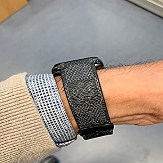 Apple Watch Band DamierBlack L.V. Monogram 38mm, 40mm, 42mm, 44mm, Series 5, 4, 3, 2, 1 with 2-Day Delivery