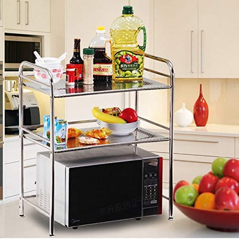 SLR Multi-Functional Multi-Layer Storage Shelf, Kitchen Stainless Steel Seasoning Bracket