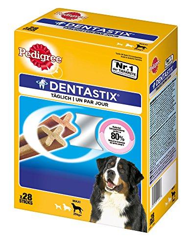 PEDIGREE Dentastix Premios para Perros Grandes de Higiene Oral Uso Diario - Pack de 4 x 7 Palos - Total: 28 Palos