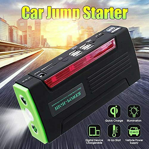 Lowest Prices! Multi Function Car Jump Starter - 12V 600A Peak 68800mAh, 4 USB Port US L02628