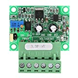 Fafeicy Digital-Analog PLC Module, 3.3V PWM Signal to 0-5V Voltage Converter D/A Digital-Analog PLC Module, Reverse Polarity Protection Function