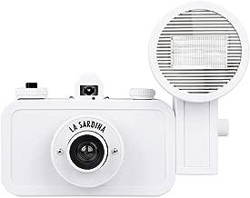 Lomography La Sardina Camera with Flash - DIY Black