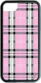 Wildflower Limited Edition iPhone Case for iPhone 6, 7, or 8 (Pink Plaid)
