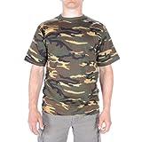 Mil-Tec Herren NVA Strichtarn T-Shirt