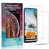 GIMTON Trasparente Vetro Temperato per Galaxy M80S, Nessuna Bolla, Anti Impronte, Pellicola Protettiva in Vetro Temperato, 0.26mm Ultra Sottile, 2 Pezzi