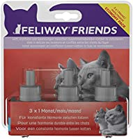 FELIWAY Friends 30 Day Refill (Value 3 Pack), Helps to Reduce Conflict in Multi-cat households, Helping Cats get Along...