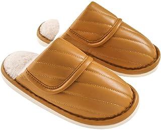 XZDNYDHGX Garden Clogs Mules Garden Shoes for Indoor Outdoor,Men's Slippers Winter waterproof Plush Floor, Female Women Co...