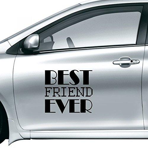 DIYthinker Beste Vriend Ooit Quote Auto Sticker Op Auto Styling Decal Motorfiets Stickers Voor Auto Accessoires Gift