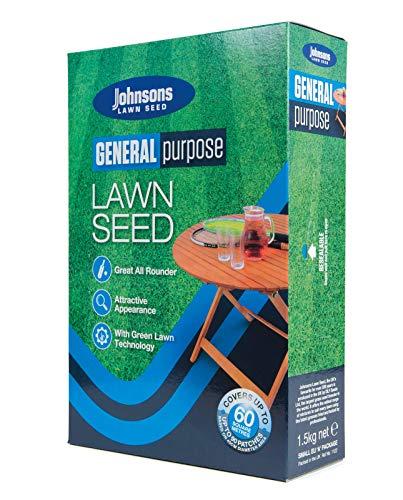 Decco Ltd Johnsons 556993 General Purpose Semences de Gazon 1,5 kg