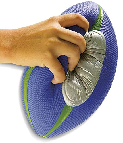 Diggin Squish Soft Kids Football. Easy Grip Foam Ball. Outdoor Indoor Sports Toy
