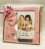 Marcos fotos para bautizo niña GRABADOS PERSONALIZADOS (pack 12 unidades) portafotos regalos...