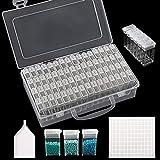 SGHUO 64 Grids 5D Diamond Painting Box Storage...