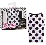 Barbie Separates Fashion Pack - Falda de lunares blanco y negro - FPH29