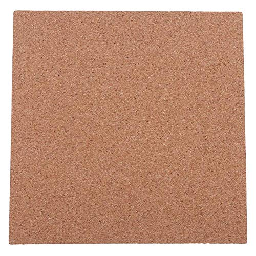 Wivarra 1 Pcs 200X200X3.0Mm 3D Printer Cork Sheets Heated Bed Hot Plate With Adhesive For Anet A8/A6 Wanhao I3 Prusa