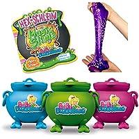 CRAZE Toys 17586 Magic Slim Bibi Blocksberg - Vela mágica de juguete con figura de bebé en el caldero, 150 ml, 17586, multicolor