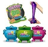 CRAZE MAGIC SLIME Bibi Blocksberg magischer Spielzeug Schleim inkl. Spielfigur Kinderschleim im Kessel 150 ml 17586