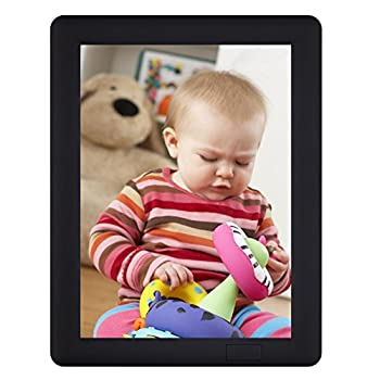 ChaoRong 7x5inch Talking Photo Frame For Picture With 20s Voice Recorder  Black