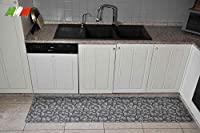 casa tessile silver tappeto cucina largo 50 cm. - var. 1, 300 cm.