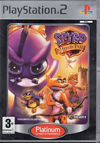SPYRO A HERO´S TAIL PS2 PLATINUM