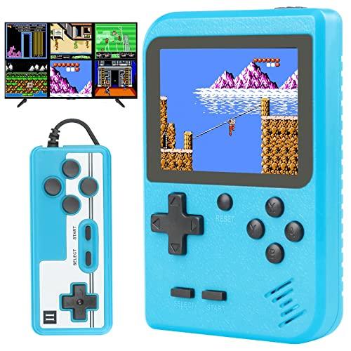 Melusen Handheld Retro Game Console, Mini Portable Game Console, 400...